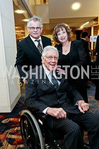 James Coy, Gen. Larry Skantze, Trudy Amond-Coy. Photo by Tony Powell. 2014 Medstar NRH Gala. Marriott Marquis. October 30, 2014