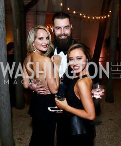 Jade Kenny, Nicholas Karnaze, Teresa Davis. Photo by Tony Powell. 2014 Meridian Ball. October 17, 2014