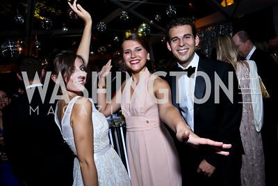 Tatiana Pastukhova, Anna Buglaeva, Logan Soya. Photo by Tony Powell. 2014 Meridian Ball. October 17, 2014