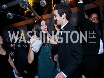 Giuliana DeAngelis, Tom Sturma. Photo by Tony Powell. 2014 Meridian Ball. October 17, 2014