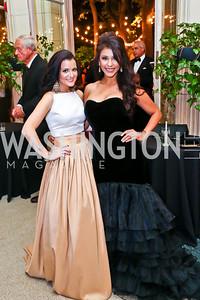 Rebecca Trosset, Lorena Jewart. Photo by Tony Powell. 2014 Meridian Ball. October 17, 2014