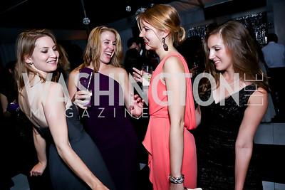Sarah McHaney, Becca Taylor, Lauren Aitken, Copeland Barnes. Photo by Tony Powell. 2014 Meridian Ball. October 17, 2014