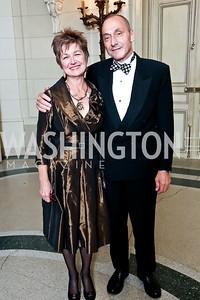 Dorothy Kosinski and Thomas Krahenbuhl. Photo by Tony Powell. 2014 Meridian Ball. October 17, 2014