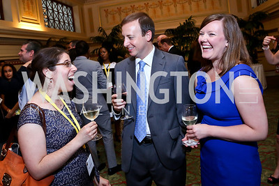 Jessica Wechter, Andy Feldman, Melissa Neuman. Photo by Tony Powell. Metro TeenAIDS Gala and Auction. Union Station. June 11, 2014