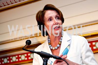 Nancy Pelosi. Photo by Tony Powell. Metro TeenAIDS Gala and Auction. Union Station. June 11, 2014