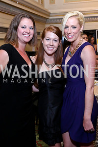 Caitlin Fraderich, Elizabeth Caspers, Emily Dentry. Photo by Tony Powell. Metro TeenAIDS Gala and Auction. Union Station. June 11, 2014