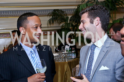 Eric Pope, Trevor Corning. Photo by Tony Powell. Metro TeenAIDS Gala and Auction. Union Station. June 11, 2014