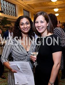 Rajni Samavedam, Erica Thomas. Photo by Tony Powell. Metro TeenAIDS Gala and Auction. Union Station. June 11, 2014