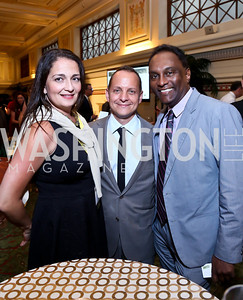 Shannon Hader, Adam Tenner, Farley Cleghorn. Photo by Tony Powell. Metro TeenAIDS Gala and Auction. Union Station. June 11, 2014