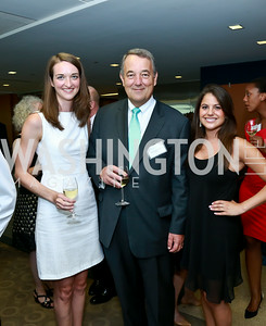 Anne Iyer, Edward Greissing, Carly Silver. Photo by Tony Powell. Milken Scholars Recognition Dinner. Elliott School, GWU. July 12, 2014
