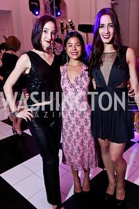 WB dancers Carly Wheaton, Katya  Linehan and Francesca Dugarte. Photo by Tony Powell. 2014 Noche de Gala. OAS. November 8, 2014