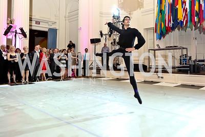 WB dancer Miguel Ayana. Photo by Tony Powell. 2014 Noche de Gala. OAS. November 8, 2014