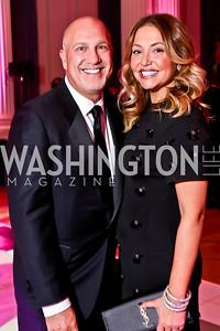 Peter and Andrea Rinaldi. Photo by Tony Powell. 2014 Noche de Gala. OAS. November 8, 2014