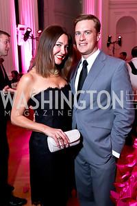 Christina and Dorian Mazurkevich. Photo by Tony Powell. 2014 Noche de Gala. OAS. November 8, 2014