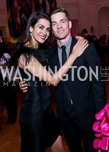 WB dancers Sona Kharatian and Jonathan Jordan. Photo by Tony Powell. 2014 Noche de Gala. OAS. November 8, 2014