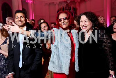 Patricia Field, Justice Sonia Sotomayor. Photo by Tony Powell. 2014 Noche de Gala. OAS. November 8, 2014