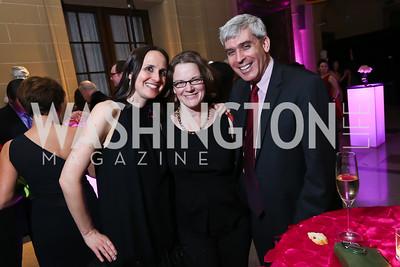 Erin Barnes, Monica Leland, Randy Brater. Photo by Tony Powell. 2014 Noche de Gala. OAS. November 8, 2014