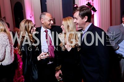 Alison Miller, Michael Cymerman, Hayley Gordon Pivato, Bill O'Leary. Photo by Tony Powell. 2014 Noche de Gala. OAS. November 8, 2014