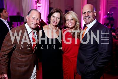 Mitchell Delk, Amanda Delk, Jamie and Dave Dorros. Photo by Tony Powell. 2014 Noche de Gala. OAS. November 8, 2014
