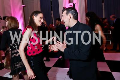Argentina Amb. Cecilia Nahon, Julio Bocca. Photo by Tony Powell. 2014 Noche de Gala. OAS. November 8, 2014