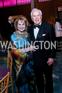 Ann and Lloyd Hand. Photo by Tony Powell. 2014 Opera Ball. Japanese Ambassador's Residence. June 7, 2014