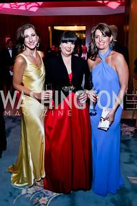Andrea Lethbridge, Amy Duke, Kerri Larkin. Photo by Tony Powell. 2014 Opera Ball. Japanese Ambassador's Residence. June 7, 2014