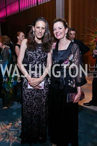 Argentinian Amb. Cecilia Nahon, Marie Royce. Photo by Tony Powell. 2014 Opera Ball. Japanese Ambassador's Residence. June 7, 2014