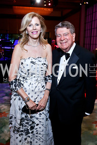 Jane  and Calvin Cafritz. Photo by Tony Powell. 2014 Opera Ball. Japanese Ambassador's Residence. June 7, 2014