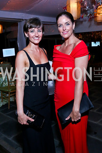 Claudia Cotca, Amanda Whiting. Photo by Tony Powell. 2014 Opera Ball. Japanese Ambassador's Residence. June 7, 2014