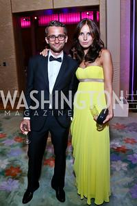 Dmitry and Yulia Chernyshev. Photo by Tony Powell. 2014 Opera Ball. Japanese Ambassador's Residence. June 7, 2014