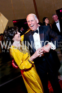Didi and Walter Cutler. Photo by Tony Powell. 2014 Opera Ball. Japanese Ambassador's Residence. June 7, 2014