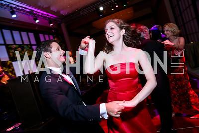 Andrew Jorgensen, Miriam Engel. Photo by Tony Powell. 2014 Opera Ball. Japanese Ambassador's Residence. June 7, 2014