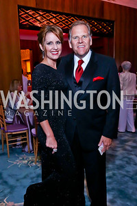 Kristi Rogers and Rep. Mike Rogers. Photo by Tony Powell. 2014 Opera Ball. Japanese Ambassador's Residence. June 7, 2014