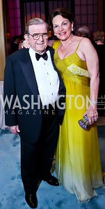 Morton and Grace Bender. Photo by Tony Powell. 2014 Opera Ball. Japanese Ambassador's Residence. June 7, 2014