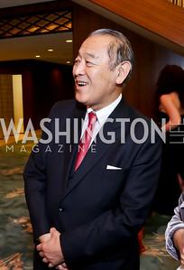 Former Japan Amb. Ichiro Fujisaki. Photo by Tony Powell. Opera Camerata of Washington Gala. Japan Amb's Residence. December 5, 2014