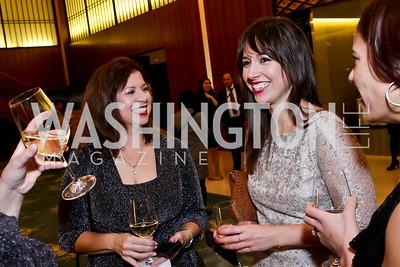 Pamela Shover and Danielle Shover. Photo by Tony Powell. Opera Camerata of Washington Gala. Japan Amb's Residence. December 5, 2014
