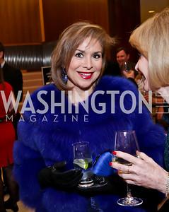 Teri Gálvez. Photo by Tony Powell. Opera Camerata of Washington Gala. Japan Amb's Residence. December 5, 2014