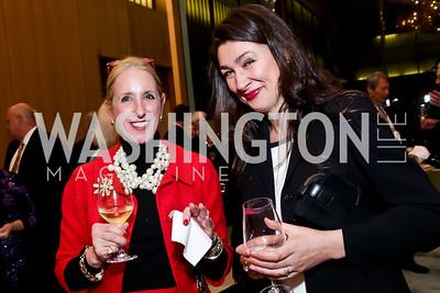 Sharon Smith, Marina Fritz. Photo by Tony Powell. Opera Camerata of Washington Gala. Japan Amb's Residence. December 5, 2014