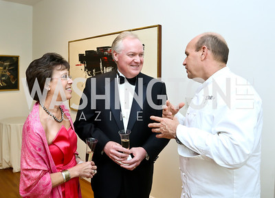 Vicki and Bruce Tanner, Todd Gray. Photo © Tony Powell. 2014 Phillips Collection Gala. May 16, 2014