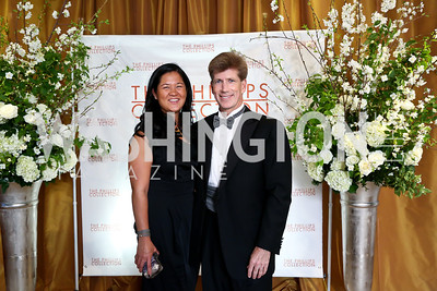 Trish Yan, Jonathan Taylor. Photo © Tony Powell. 2014 Phillips Collection Gala. May 16, 2014