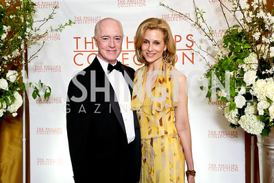 David and Katherine Bradley. Photo © Tony Powell. 2014 Phillips Collection Gala. May 16, 2014