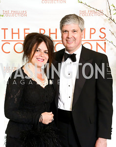 Izette and Neil Folger. Photo © Tony Powell. 2014 Phillips Collection Gala. May 16, 2014