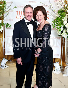 Wayne and Catherine Reynolds. Photo © Tony Powell. 2014 Phillips Collection Gala. May 16, 2014