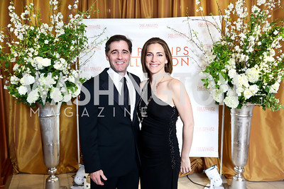 Julius Genachowski and Rachel Goslins. Photo © Tony Powell. 2014 Phillips Collection Gala. May 16, 2014