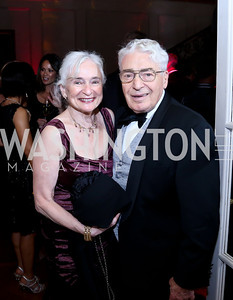 Irene and Alan Wurtzel. Photo © Tony Powell. 2014 Phillips Collection Gala. May 16, 2014