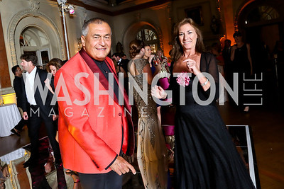Tony Podesta, Kate Chieco. Photo © Tony Powell. 2014 Phillips Collection Gala. May 16, 2014