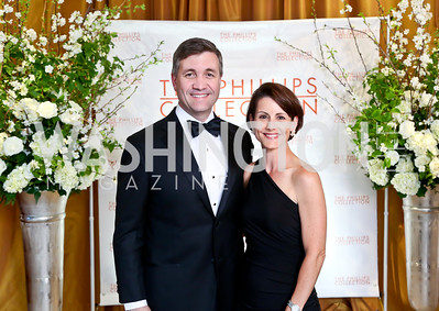 George and Anne Colclough. Photo © Tony Powell. 2014 Phillips Collection Gala. May 16, 2014