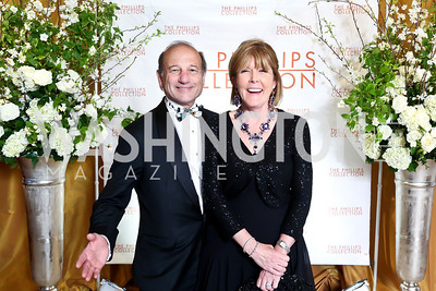 Paul Zevnik and Ginny Grenham. Photo © Tony Powell. 2014 Phillips Collection Gala. May 16, 2014