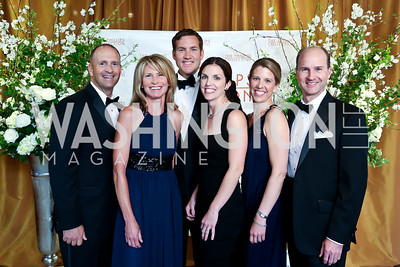 Nick and Jennifer Serenyi, Doug and Patti Jarrard, Katie and Ryan Bowman. Photo © Tony Powell. 2014 Phillips Collection Gala. May 16, 2014