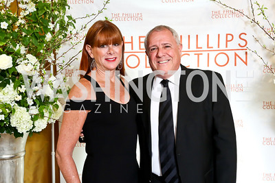 Lauri and Jeff Zell. Photo © Tony Powell. 2014 Phillips Collection Gala. May 16, 2014